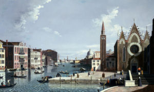 The Grand Canal, From The Santa Maria Della Carita by William James
