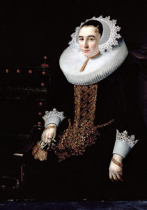 Portrait Of A Lady, Aged 21 by Adriaen Hanneman