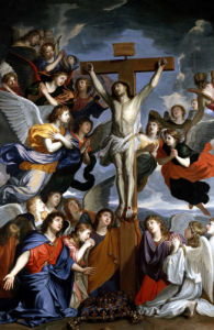 The Crucifixion by C Lebrun
