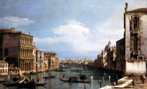 The Grand Canal, Venice by Giovanni Canaletto