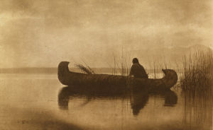 Kutenai Duck Hunter by Edward S. Curtis