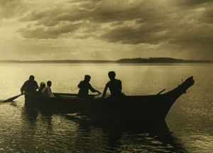 Homeward by Edward S. Curtis