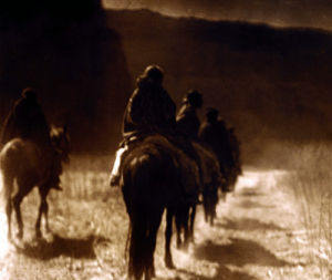 The Vanishing Race, Navaho by Edward S. Curtis