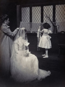 The Wedding of Gertrude Kasebier O'Malley by Gertrude Kasebier
