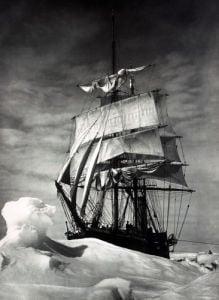 Terra Nova Icebound, British Antarctic Expedition by Christie's Images