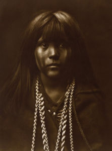Mosa - Mohave by Edward S. Curtis