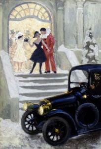 After The Ball by Paul Gustav Fischer