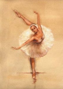 Ballerina I by Caroline Gold