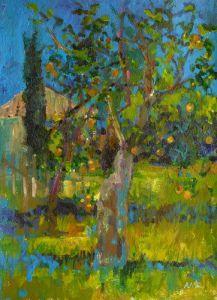 Bordeaux Orchard by Anne Rea