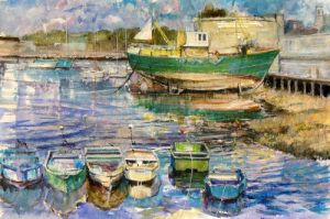 Concarneau by Anne Rea