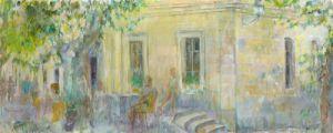 Restaurant at Avignon by Anne Rea