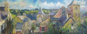Rochefort-en-Terre by Anne Rea