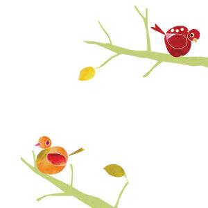 Love Birds by Louise Cunningham