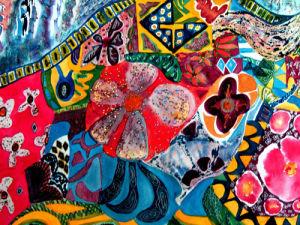 Gaudi's Bench by Luisa Gaye Ayre