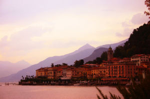 Bellagio at twilight by Wayne Williams