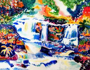 Cascade by Luisa Gaye Ayre