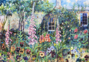 Country Garden near Dublin by Anne Rea