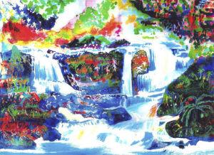 Waterfalls by Luisa Gaye Ayre