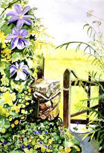 The Old Gate by Luisa Gaye Ayre