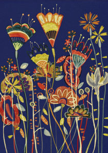 Night Garden by Louise Cunningham