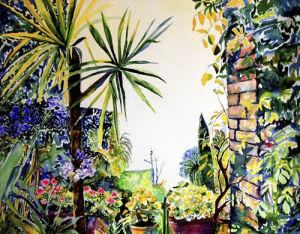 Blanes botanical gardens by Luisa Gaye Ayre