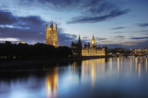 Westminster at Dusk by Christopher Holt