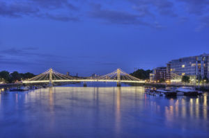 Thames at Chelsea by Christopher Holt