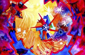 Catherine Wheel by Luisa Gaye Ayre