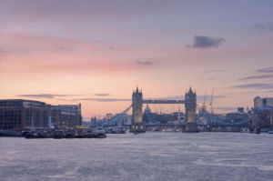 Tower Bridge at Dusk by Christopher Holt