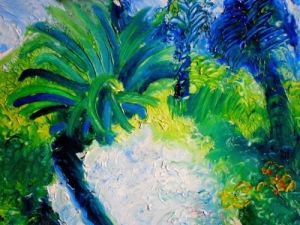 Blue Trees by Luisa Gaye Ayre