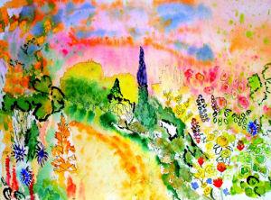 Summer Lane by Luisa Gaye Ayre