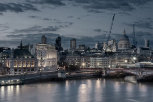 St Paul's Cathedral by Christopher Holt