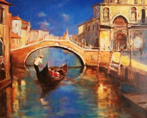 Venice Sunshine and Shade by Martin Ulbricht