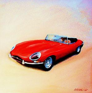 Jaguar E Type by Martin Ulbricht