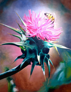Milk Thistle by James Knowles