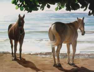 Caballos del Mar by James Knowles