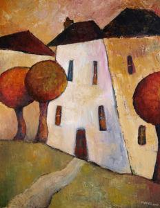 Three Huddled Houses by Jeremy Mayes