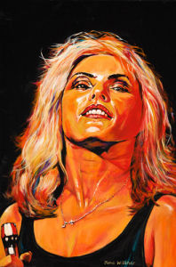 Debbie Harry by John Wilsher