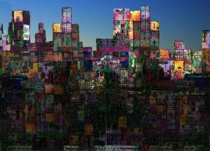 City Sunrise II by Andy Mercer