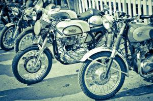 Vintage Motorbikes by Marc Lickfett