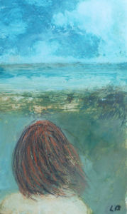 I Must Go Down to the Seas Again II by Lesley Birch