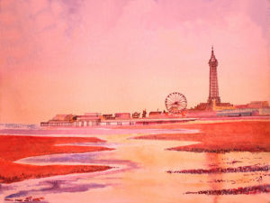 Blackpool in the Pink by Luisa Gaye Ayre