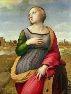 St. Catherine of Alexandria, 1507 by Raphael