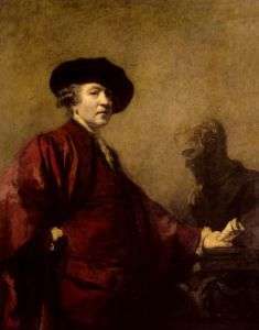 Self portrait, c.1780 by Sir Joshua Reynolds