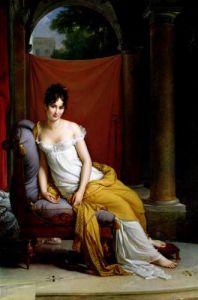 Portrait of Madame Recamier by Baron Francois Pascal Simon Gerard