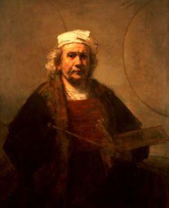Self portrait, 1661 by Rembrandt