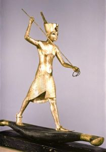 The Harpooner, from the treasures of Tutankhamun, 1340 BC by Egyptian Art