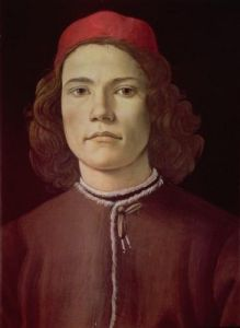 Portrait of a Young Man, c.1480 by Sandro Botticelli