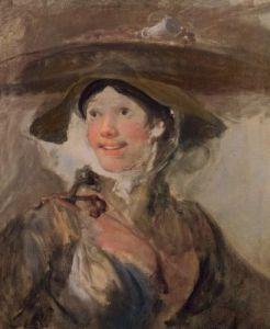 The Shrimp Girl, c.1745 by William Hogarth