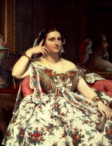 Madame Moitessier, 1856 by Jean-Auguste-Dominique Ingres